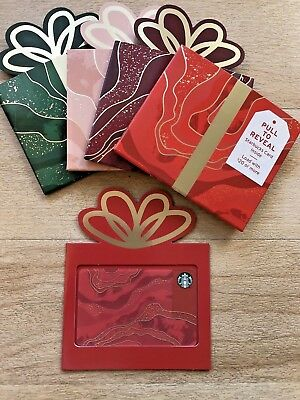 New! 55 Starbucks 2018 Christmas 🎄☃️ Holiday gift card set 🎁