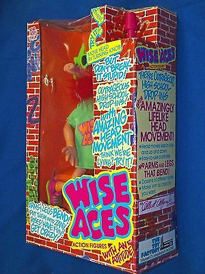 Wise Aces Hogg Animated Bendable Action Figure Puppet Doll New in Box! 1990