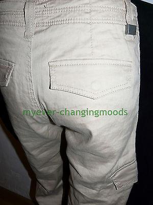 Calvin Klein Unisex Jeans 28 Waist 33 Inside Leg Stone Cream New Unworn Rrp £154 8
