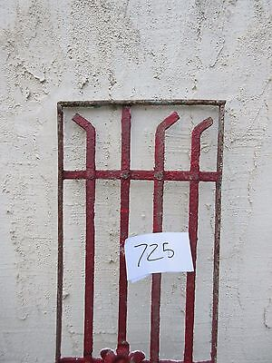 Antique Victorian Iron Gate Window Garden Fence Architectural Salvage #725 2