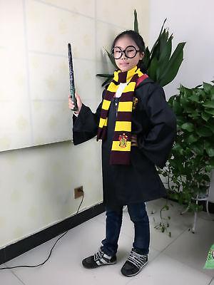 Harry Potter Cape Costume Cosplay Manteau écharpe Cravate Gryffindor Slytherin 9