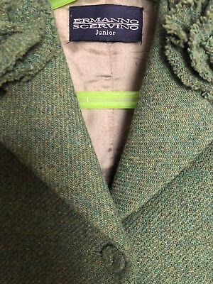 Ermanno Scervino Junior 3 Bottoni Cappotto Coat 6 Anni 2