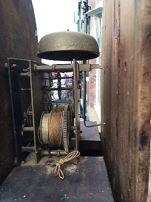 pine grandfather clock reduced£495 10