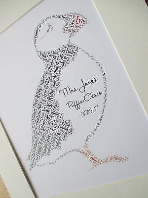 Personalised GUITAR Word Art A4 Print or A5 Greetings Card 1