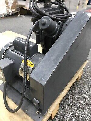 WELCH DUO-SEAL Vacuum Pump Model 1397 W/ Baldor Motor L3510 AWD-D-2-8-001 4