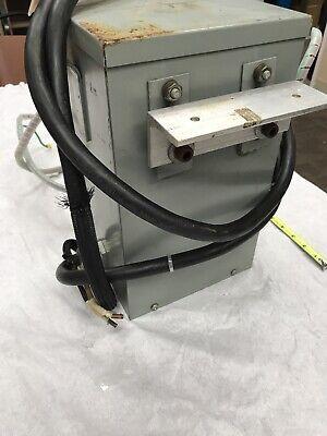 General Purpose Transformer Type 2 Enclosure Catalog No T-3-53044-S SE ID-DY-5 4