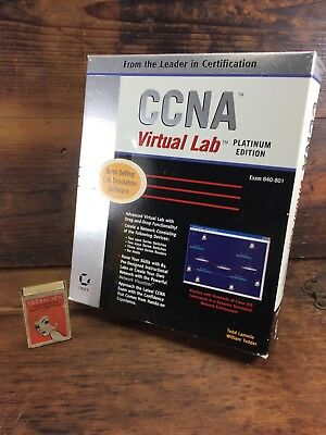 Ccna Virtual Lab Platinum Edition (640-801) Lab Simiulation Software Cisco Ed 6