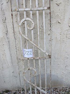Antique Victorian Iron Gate Window Garden Fence Architectural Salvage #722 3