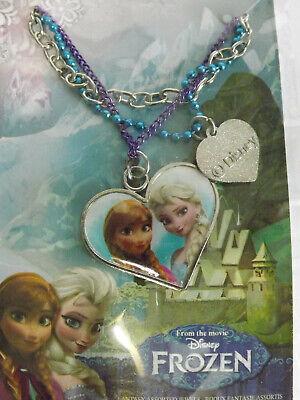 Disney Frozen Bijoux Fantasie Collier Coeur et Perle  Reine des Neiges  Neuf