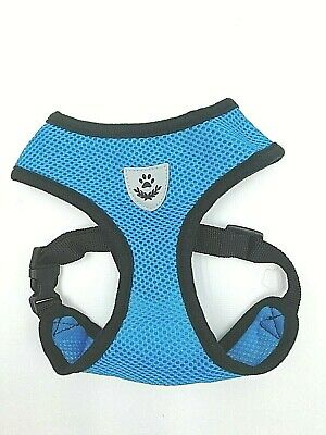 Mesh Padded Soft Puppy Pet Dog Harness Breathable Comfortable Many Colors S M L 10