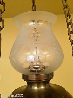 Vintage Lighting matched pair early electric pendants circa 1915 3