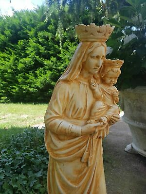 Statua Della Madonna Del Carmine Carmelo Da Esterno In Cemento Marmo E Pietr 6