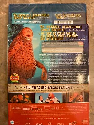 Missing Link 2019 Blu-Ray & DVD w Slipcover Canada Bilingual NO DC LOOK 2