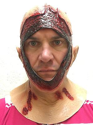 Copricapo Jason Sanguinoso Maschera Cappuccio Latex Costume di Halloween Horror 3