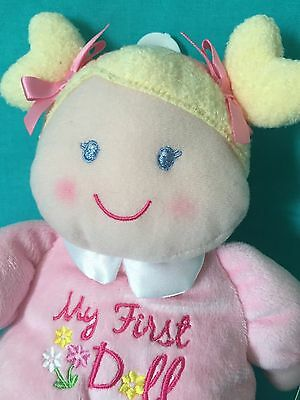 Angel Dear  Rattle Chenille Pink Lamb  our 2389