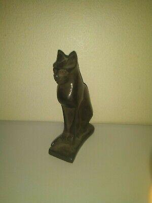 RARE ANTIQUE ANCIENT EGYPTIAN Statue of Cat Bast-Bastet 1421–1219 BC (2) 4