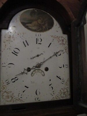 John Thomas Of Worcester 8 Day Grandfather Clock 5
