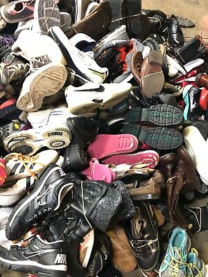 Wholesale Joblot Used Second Hand Clothes Shoes 25Kg Sacks Bags Cream, Grade 1&2 11