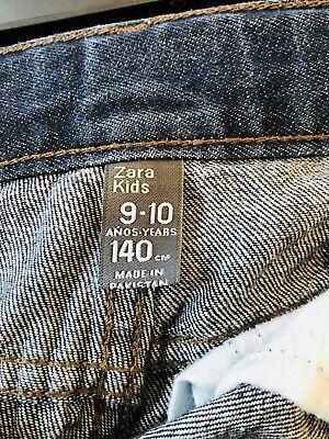Zara Boys  Dark Blue  Jeans Size 9-10 6