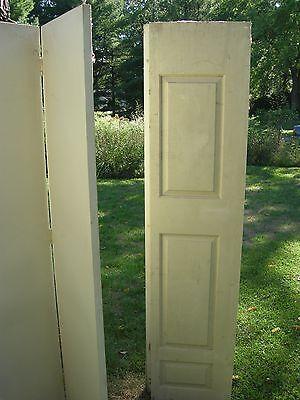 Set of 3 pair folding 3 Panel  INTERIOR Closet Doors 80 x 18, 6 doors total $150 3