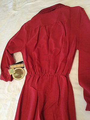 Ladies Vintage 1940's style Sleepwear Jumpsuit Size 14 -New and Unused with tags 4