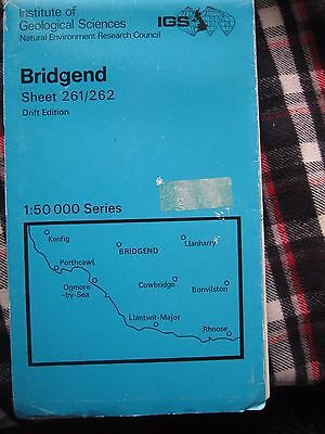 institute of geological sciences Bridgend sheet 261/262 drift edition [Map] [Jan 2