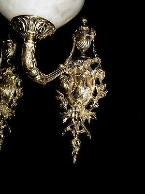 alabaster wall lights sconces solid bronze customs made by artist 2