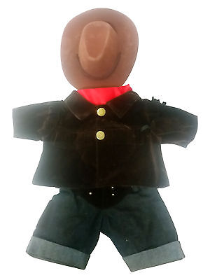 Cowboy Clothing Outfit by Stufflers – Will fit on a Build a bear