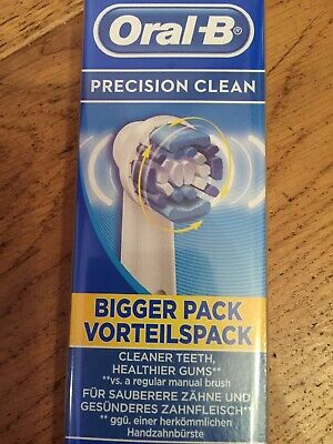 *Braun Oral-B Precision Clean Electric Toothbrush Replacement Brush Heads x 4 3