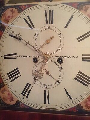 Longcase Clock Lockwood & Cooke Huddersfield Fully Working 3
