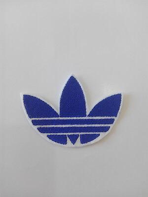 Parche bordado para  pegar , termoadhesivo estilo Adidas 7,5/5,5 cm adorno ropa 4