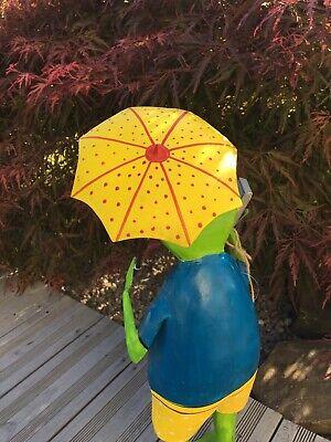 Frosch Gartenfigur Dekofrosch Gartenskulptur Terassendekoration Designfrosch