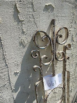 Antique Victorian Iron Gate Window Garden Fence Architectural Salvage Door #661 4