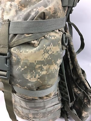 MOLLE II ACU Large Rucksack Field Pack Complete w/ Frame US Military Army VGC 5