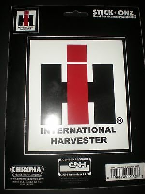 International Harvester Logo >> International Harvester Logo 4 1 2 X 5 Inch Decal Sticker By Chroma Stick Onz