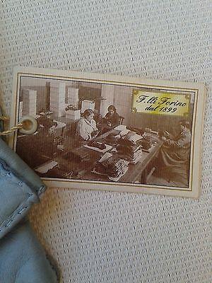 Guanti Donna in pelle col. carta da zucchero tg 6 Gloves Originali Lusso 2
