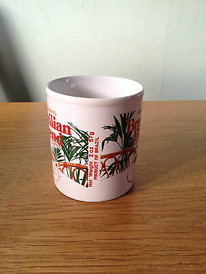 COLLECTABLE BROOKE BOND BRAZILIAN BLEND Instant COFFEE Mug / Cup RARE -  ENGLAND