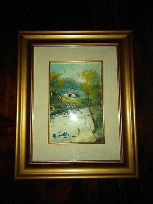 Quadro In Stile Impressionista Firmato 2