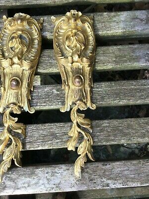 Louis XV Antique French Gilt Bronze Furniture Mounts - Selling Individually 11