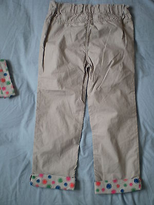 M&Co Girl Summer Trousers Size 5-6 years 100% Cotton 6