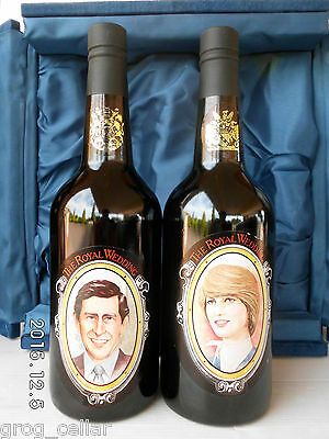 Prince Charles & Diana Spencer Royal Wedding Port Ltd Edit 1981-The  HOLY GRAIL 4