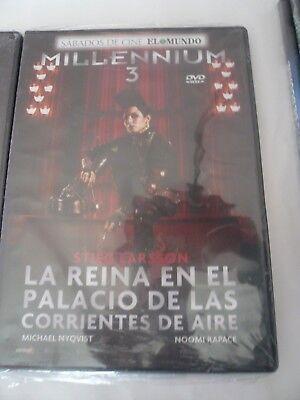 Oferta Liquidacion Trilogia Millennium 3 Dvd ( Nuevos Precintados ) 4