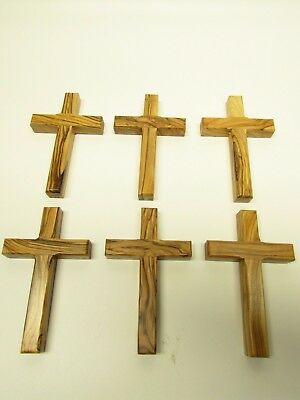 Olive Wood Christian Wall Cross - Hand Made in the Holy Land - Jerusalem 5