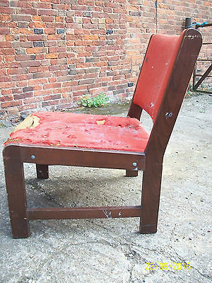 Old 1960s-1970s  Chair  for Restoration.Refurbish  Re-upholstery 2