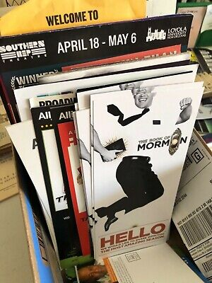Broadway/Theatre Flyers Mailers Brochures / Free U.S. Shipping!  Bulk discounts! 4