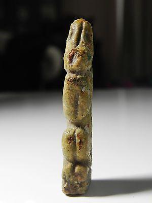 Zurqieh -B1H- Ancient Egypt - Beautiful Hare Amulet, 600 - 300 B.c 3