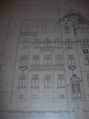 Vintage Architectural Scale Drawing Inventory And Documentation (17) 1980 Poland 3