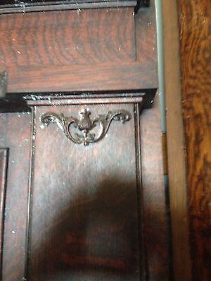 Antique Oak Fireplace Mantle M 20 3