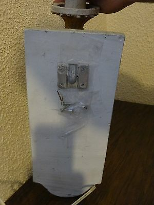 Vintage Antique Wood Sconce Door Entrance Wall Mount Light Lamp Victorian Castle 7