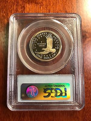 2008-S Sacagawea US Dollar Proof PCGS PR69 DCAM (Deep Cameo Finish) $ coin 3
